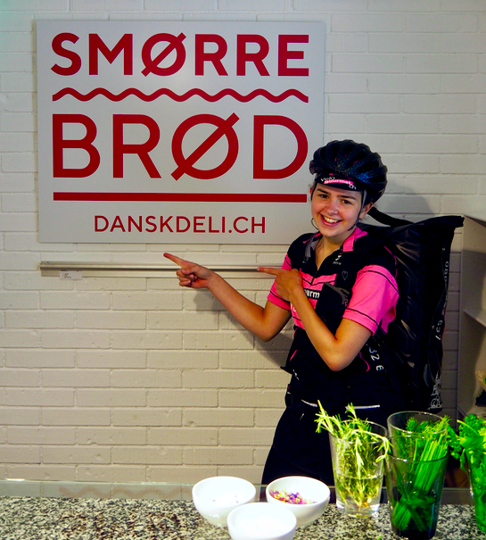 Smørrebrød kann man auch bei Velogourmet bestellen