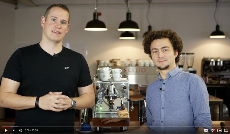 La Basilea Uno: unsere Kaffeemaschine für zuhause.
